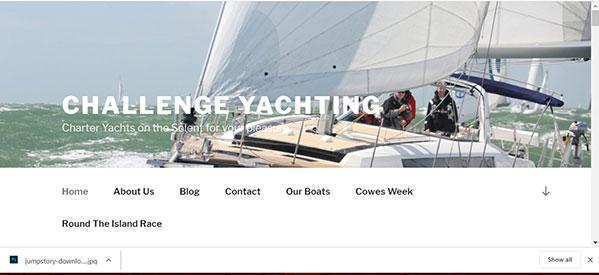 challenge yachting