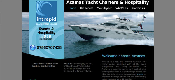 Acamas-website