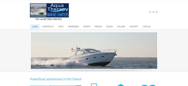 Aqua-Therapy-Marine-Charters-website