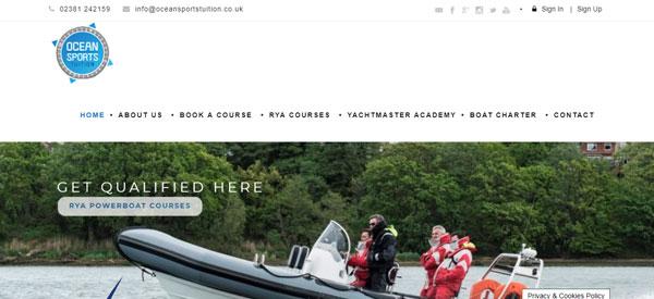 Ocean-Sports-Tuition-website