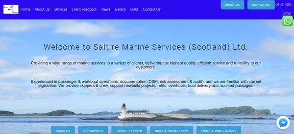 Saltire-Marine-Services-website