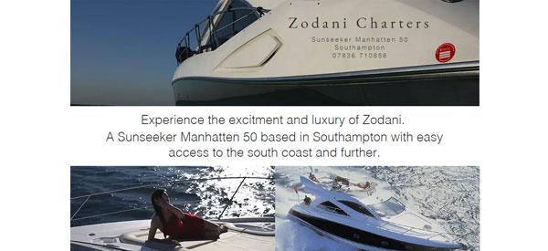 Zodani-Charters-website
