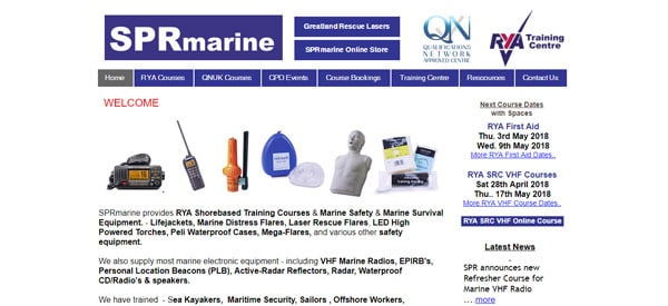 SPR-Marine-website