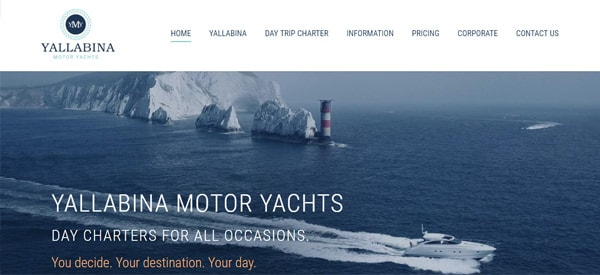 Yallabina_Motor_Yachts_Website
