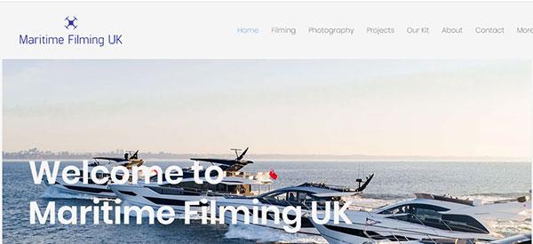 Maritime filming UK website
